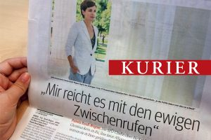 Kurier-Interview mit Pamela Rendi-Wagner
